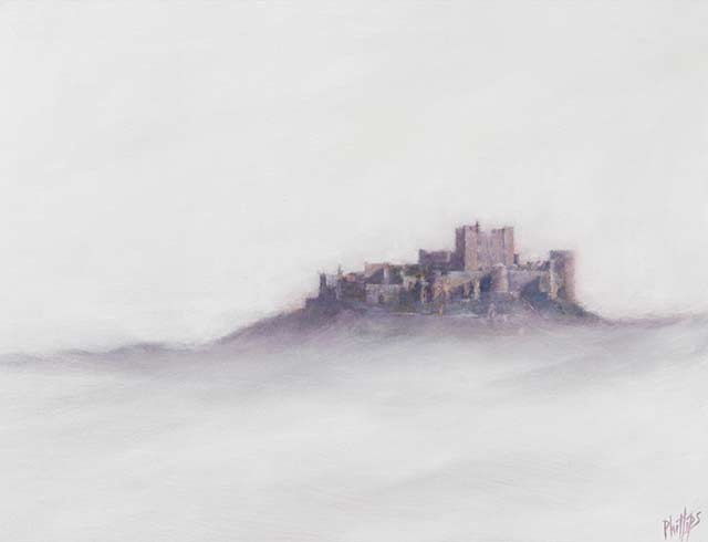 Bamburgh In The Mist 1
