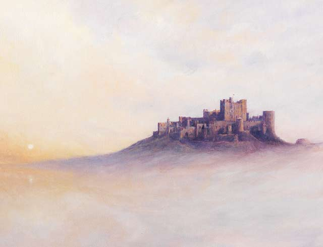 Bamburgh In The Mist 2