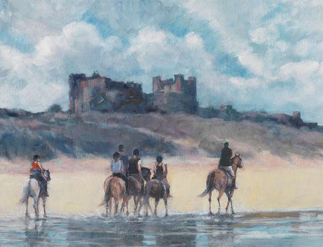 Bamburgh Riding Out