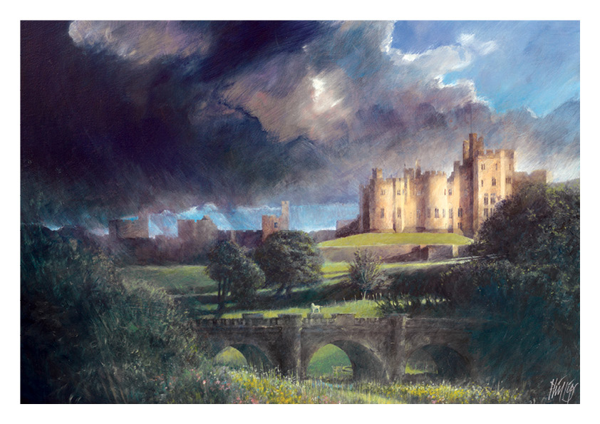 September calendar image - Alnwick Castle