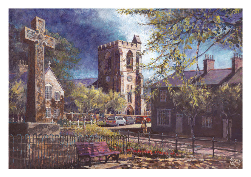 April calendar image - Rothbury