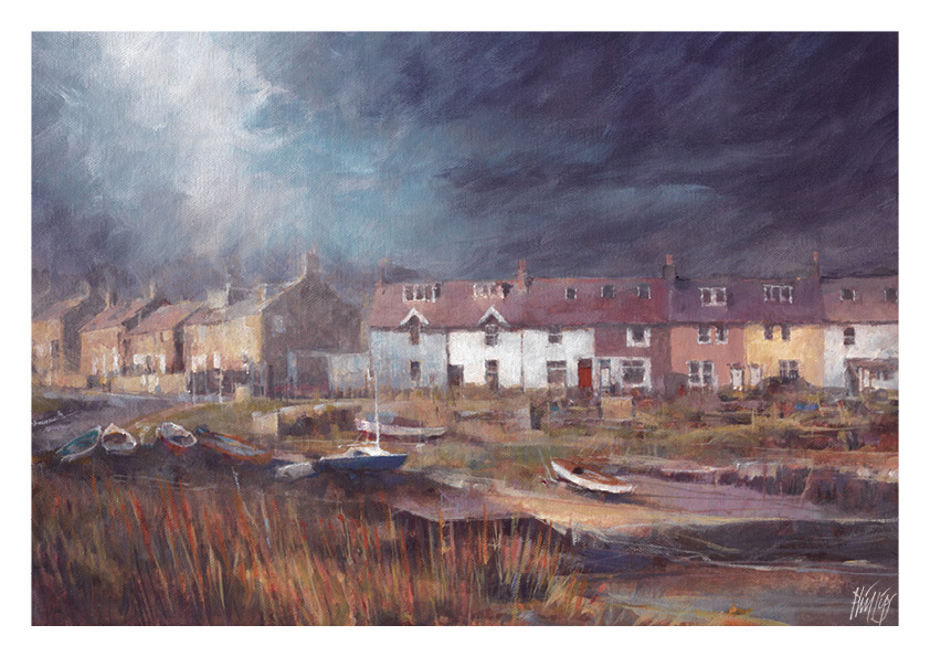 July calendar image - Craster Cottages