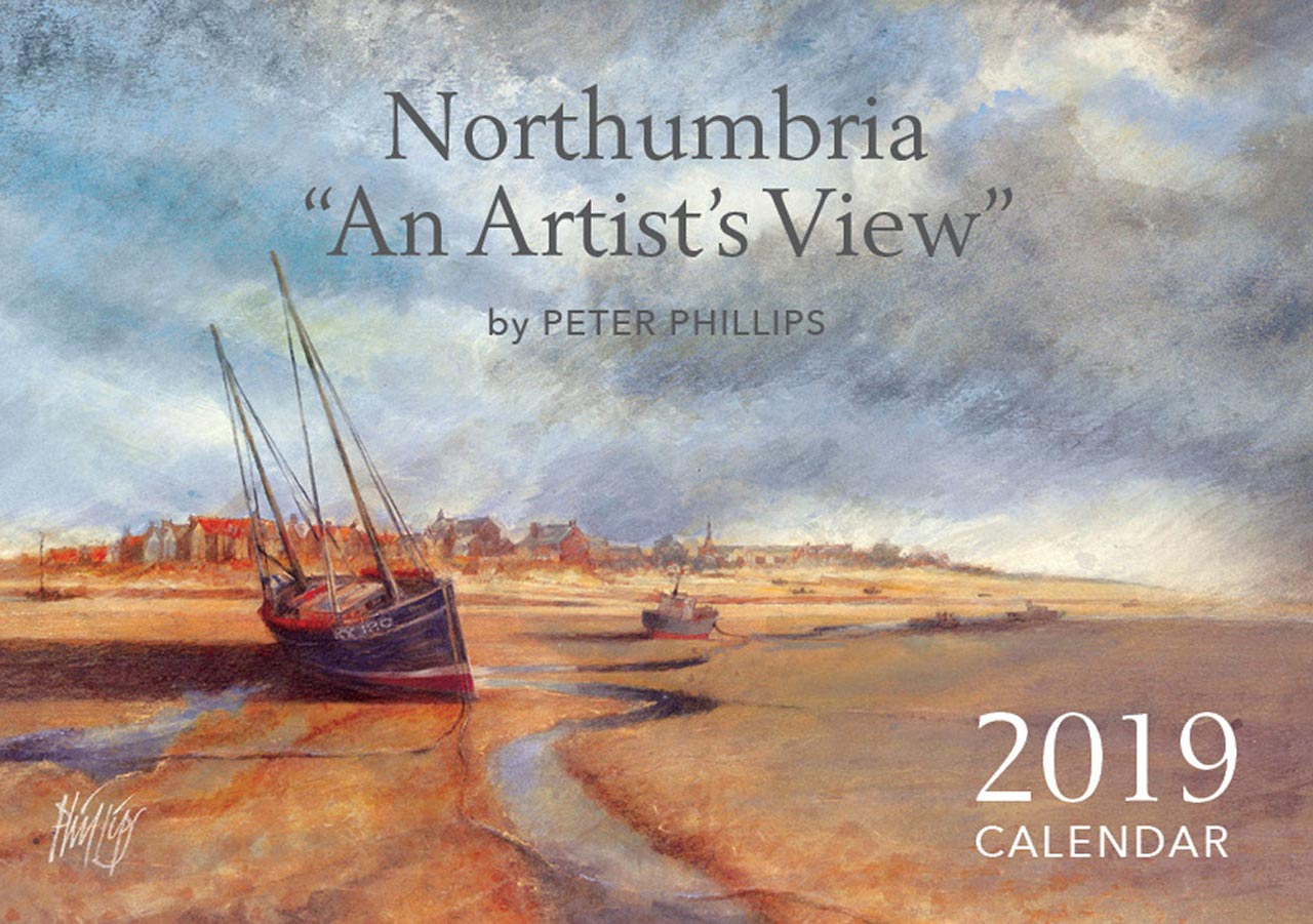 "The 2019 Northumbria — ""An Artist's View"" Calendar cover"