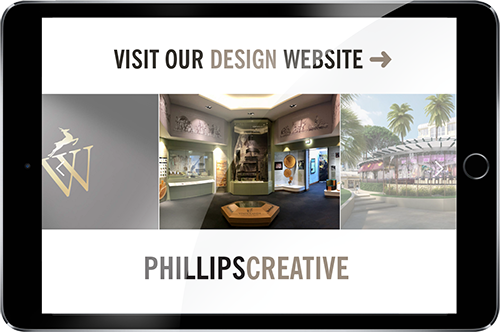 Phillips Creative website